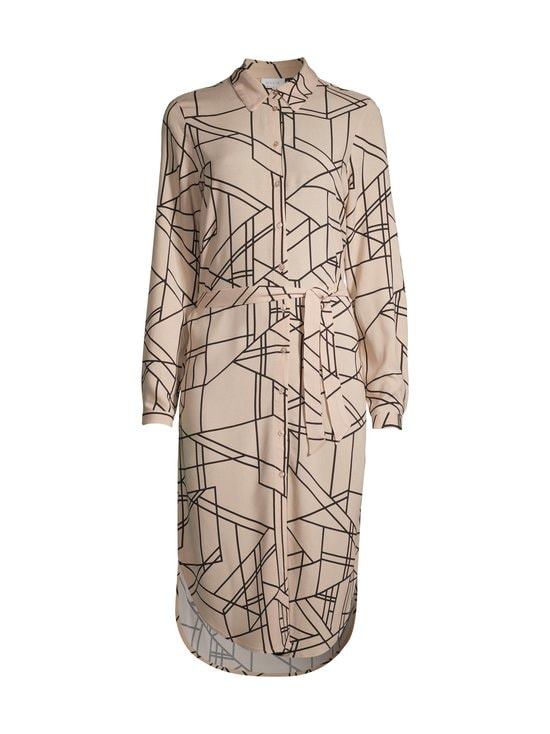 Vila - ViAlu Luani L/S Midi Shirt Dress -mekko - NOMAD | Stockmann - photo 1
