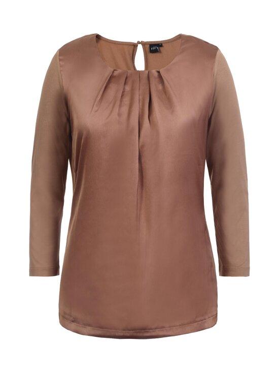 Ril's - Lowell blouse -pusero - 140 SALTED CARAMEL   Stockmann - photo 1