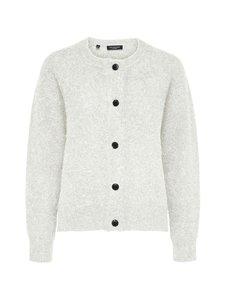 Selected - SlfLulu LS Knit Short Cardigan -neuletakki - 13-0905 TCX BIRCH | Stockmann