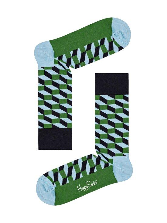 Happy Socks - Filled Optic -sukat - 7500-GREEN   Stockmann - photo 1