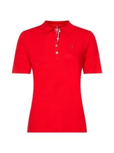 Tommy Hilfiger Curve - TH ESSENTIAL REG -pikeepaita - XLG PRIMARY RED | Stockmann