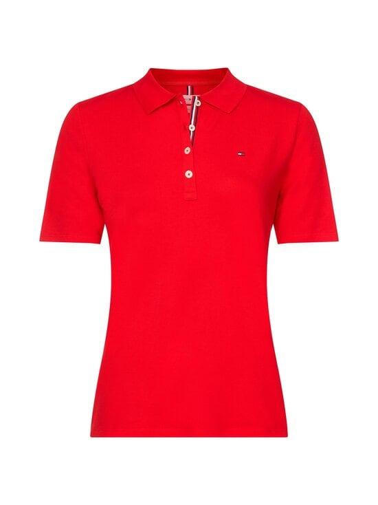 Tommy Hilfiger Curve - TH ESSENTIAL REG -pikeepaita - XLG PRIMARY RED   Stockmann - photo 1