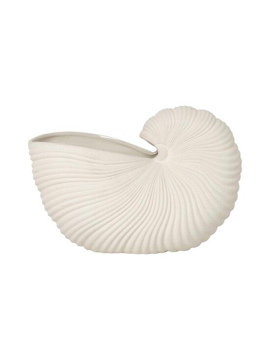 Ferm Living - Shell Pot -maljakko - OFF-WHITE | Stockmann - photo 1