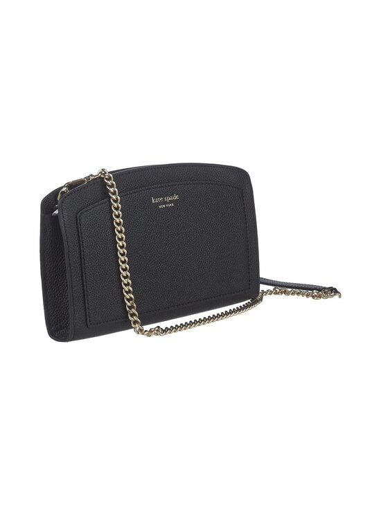 kate spade new york - Margaux East West Crossbody -nahkalaukku - 001 BLACK | Stockmann - photo 2