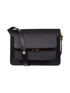 MARNI - Trunk Bag -nahkalaukku - ZN99N BLACK | Stockmann