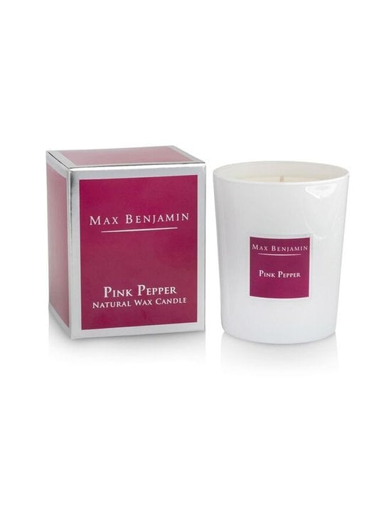 Max Benjamin - Pink Pepper -tuoksukynttilä 190 g - BURGUNDY | Stockmann - photo 1