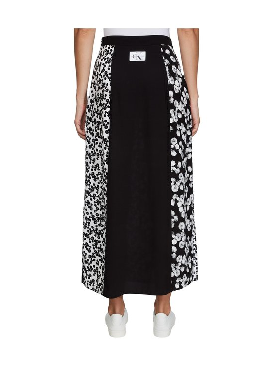 Calvin Klein Jeans - Floral Maxi -hame - 0GU BLACK WITH WHITE PEONY FLORAL | Stockmann - photo 3