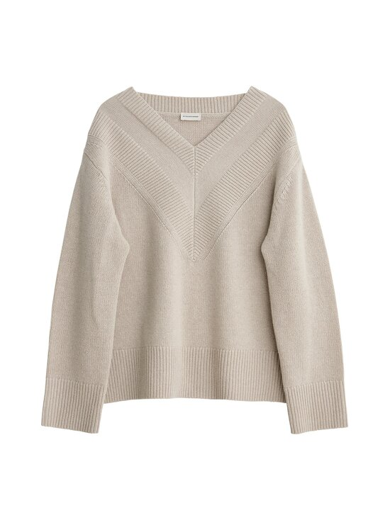 By Malene Birger - Alsia Knit -merinosekoiteneule - 068 - GREIGE | Stockmann - photo 1
