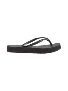 Havaianas - Slim Flatform Flip Flops -varvassandaalit - 0090 BLACK | Stockmann