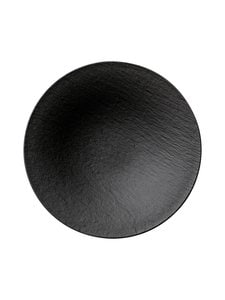 Villeroy & Boch - Manufacture Rock -tarjoilukulho - BLACK | Stockmann