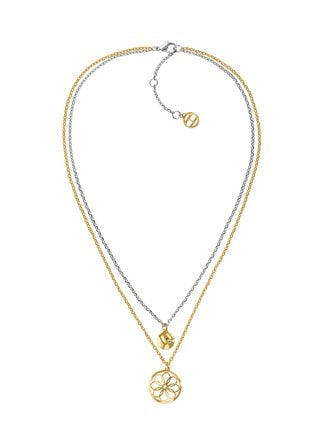 Double Layer Coin Charm necklace - Tommy Hilfiger