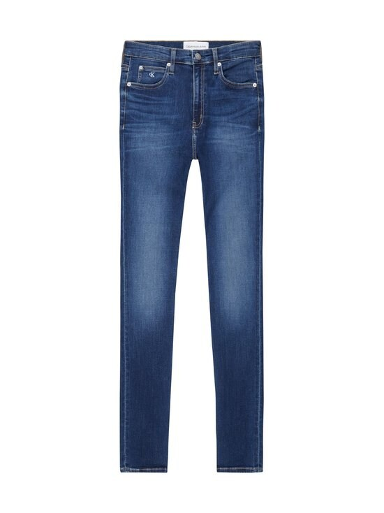 Calvin Klein Jeans - CKJ 010 High Rise Skinny -farkut - 1BJ AB048 DARK BLUE | Stockmann - photo 1