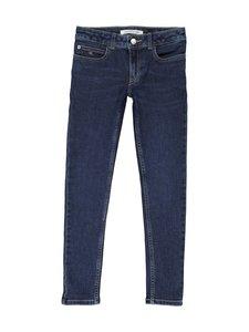 Calvin Klein Kids - Skinny Mid Rise Essential -farkut - ESSENTIAL DARK BLUE STRETCH | Stockmann