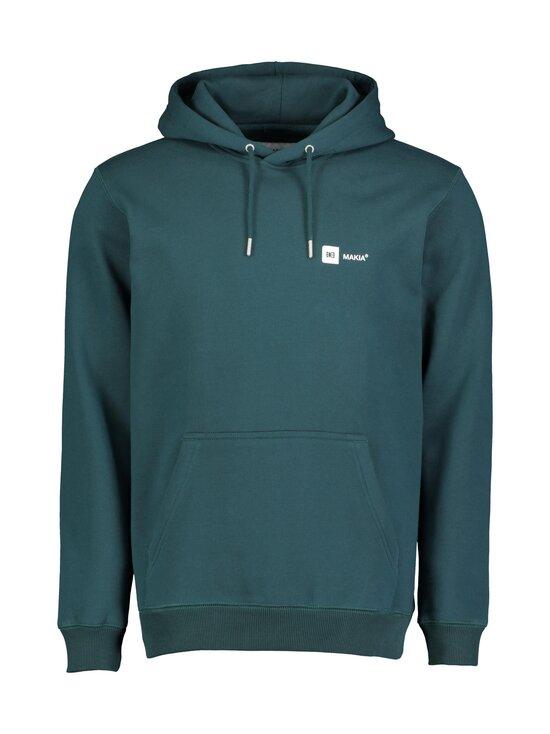 Makia - Dylan Hooded Sweatshirt -huppari - 790 TEAL | Stockmann - photo 1