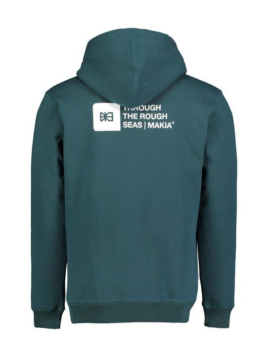 Makia - Dylan Hooded Sweatshirt -huppari - 790 TEAL | Stockmann - photo 2