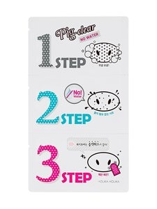 Holika Holika - Pig Clear Blackhead 3-Step Kit (No Water) -mustapäälaastari | Stockmann