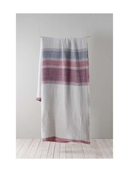 Lapuan Kankurit - Ruoste-pöytäliina/peitto 150 x 260 cm - 53 LINEN-RED-GREY | Stockmann - photo 2