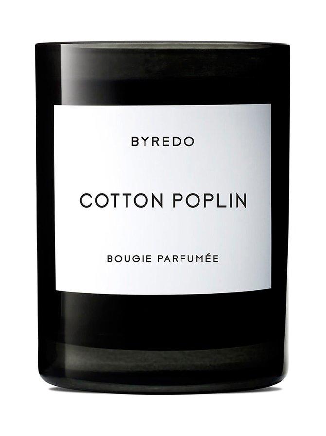 Cotton Poplin -tuoksukynttilä 240 g