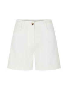 J.Lindeberg - Brianna-Cotton Twill Shorts -shortsit - 0000 WHITE | Stockmann