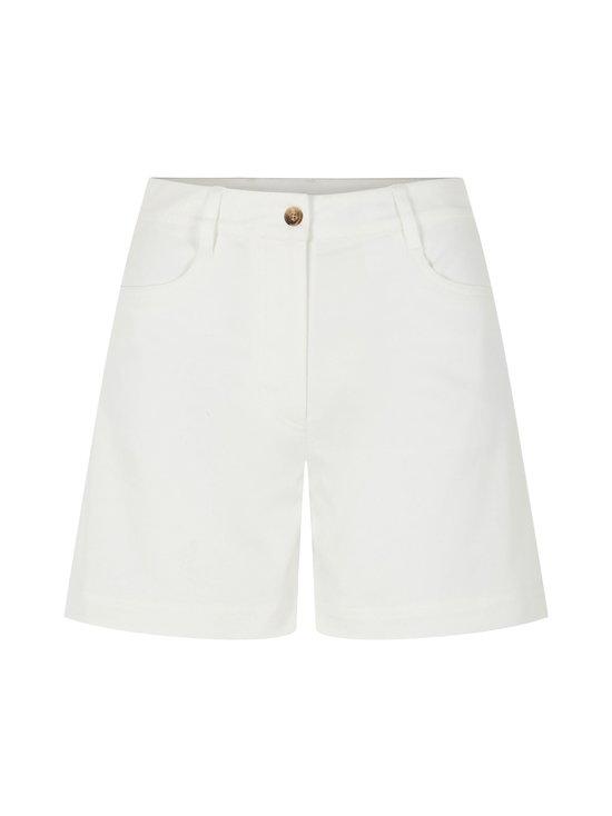 J.Lindeberg - Brianna-Cotton Twill Shorts -shortsit - 0000 WHITE | Stockmann - photo 1