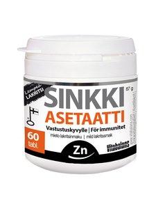 Vitabalans - Sinkki Asetaatti lempeä lakritsi -ravintolisä 60 tabl - null | Stockmann