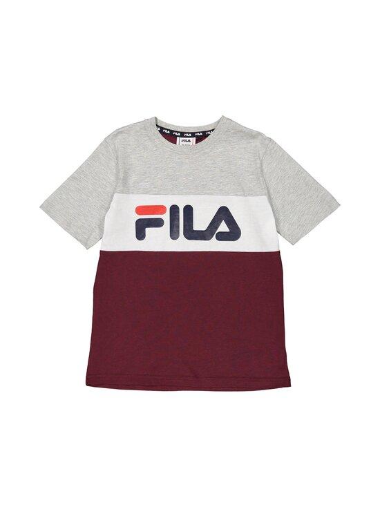 Fila - Marina-paita - A899 TAWNY PORT-LIGHT GREY MELANGEBROS-BRIGHT WHITE | Stockmann - photo 1