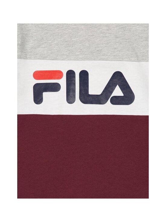 Fila - Marina-paita - A899 TAWNY PORT-LIGHT GREY MELANGEBROS-BRIGHT WHITE | Stockmann - photo 3