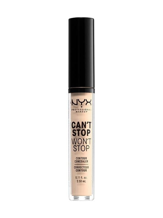 NYX Professional Makeup - Can't Stop Won't Stop Contour Concealer -peitevoide - 04 LIGHT IVORY | Stockmann - photo 1