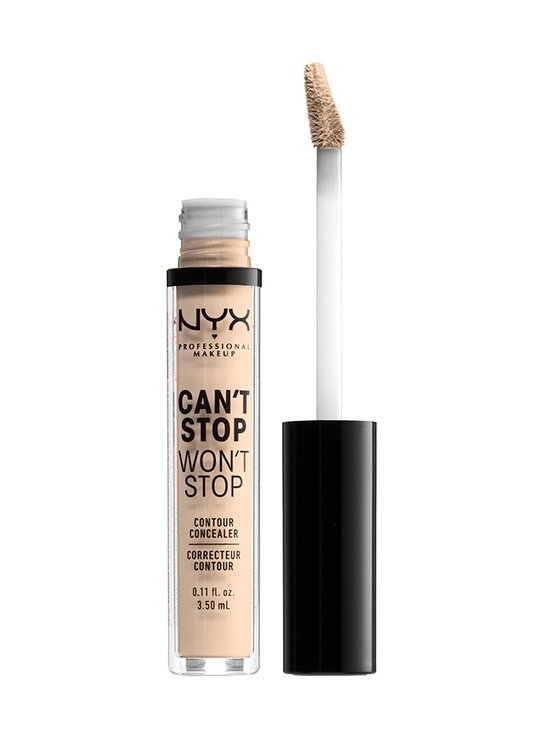 NYX Professional Makeup - Can't Stop Won't Stop Contour Concealer -peitevoide - 04 LIGHT IVORY | Stockmann - photo 2
