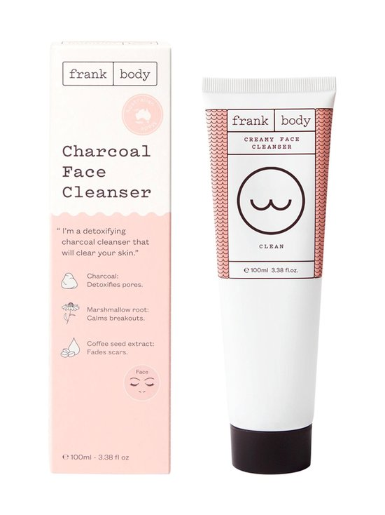 Frank Body - Charcoal Face Cleanser -puhdistusaine 100 ml - NOCOL | Stockmann - photo 1