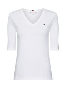 Tommy Hilfiger - TH COOL SOLID -paita - YBR WHITE | Stockmann
