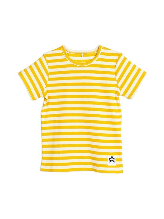 Mini Rodini - Stripe Rib Tee -paita - YELLOW | Stockmann - photo 1