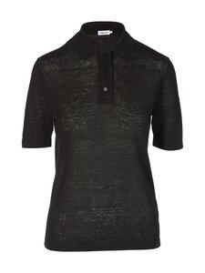 Filippa K - Angeline Knit Top -pellavapaita - 1433 BLACK   Stockmann