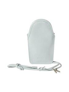 Kenzo - Onda Leather Phone Pouch With Strap -nahkalaukku - PALE GREY | Stockmann