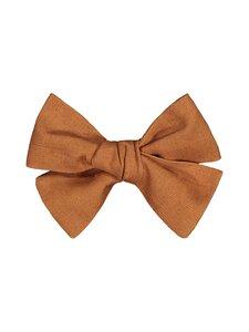 KAIKO - Linen Bow Hairclip -hiussolki - C9 COGNAC | Stockmann