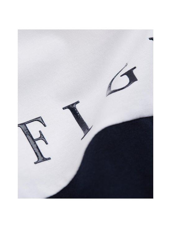 Tommy Hilfiger - Colour-Blocked Organic Cotton T-Shirt -paita - 0A4 WHITE/MULTI | Stockmann - photo 4