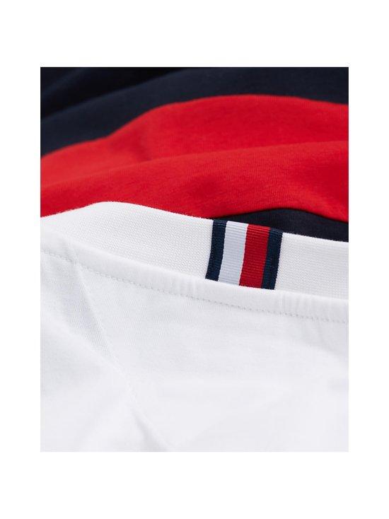 Tommy Hilfiger - Colour-Blocked Organic Cotton T-Shirt -paita - 0A4 WHITE/MULTI | Stockmann - photo 5