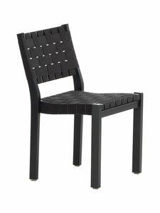 Artek - 611-tuoli - MAALATTU MUSTA/MUSTA | Stockmann