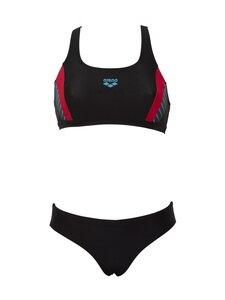 Arena - Threefold Two Pieces -bikinit - 548 BLACK-BLACK-ANGURIA | Stockmann