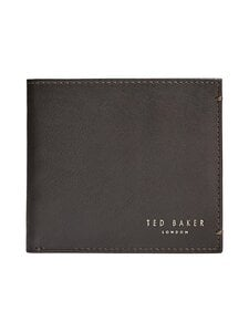 Ted Baker London - Harvys Core Bifold Coin -nahkalompakko - 22 XCHOCOLATE | Stockmann