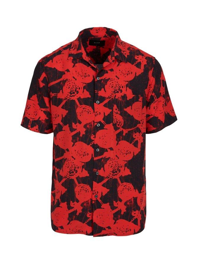 Floral Short Sleeved -paita