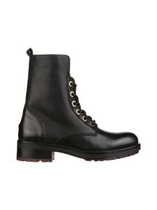 Tommy Hilfiger - Essential Biker Boot -nahkanilkkurit - BDS BLACK | Stockmann