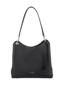 kate spade new york - Loop Large Shoulder Bag -nahkalaukku - BLACK | Stockmann