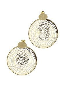 Dfj Collections - Circle Dbl -korvakorut - GOLD | Stockmann