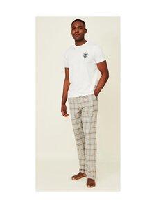 Lexington - Brooklin -pyjama - 1700 WHITE/GRAY   Stockmann