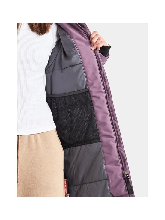 Didriksons - Jamila-parka - EGGPLANT | Stockmann - photo 8