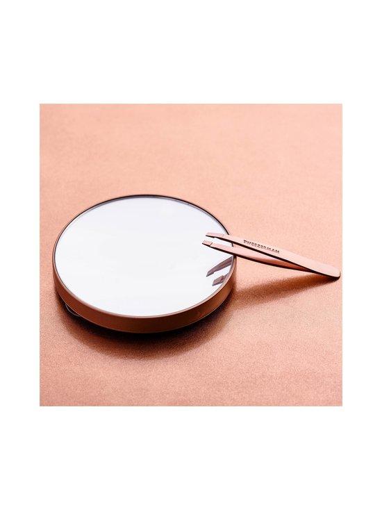 Tweezerman - Rose Gold Mini Slant & Mirror Duo -peili ja pinsetit - NOCOL | Stockmann - photo 3