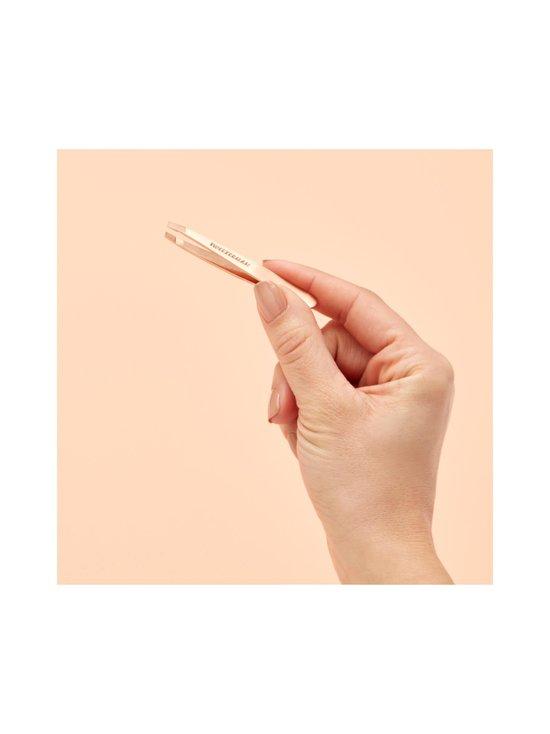 Tweezerman - Rose Gold Mini Slant & Mirror Duo -peili ja pinsetit - NOCOL | Stockmann - photo 4