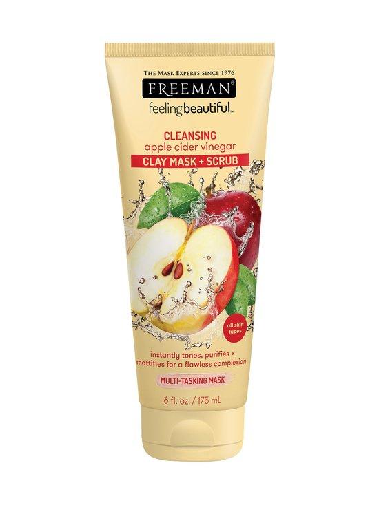 Freeman - Cleansing Clay Mask + Scrub Apple Cider Vinegar -kasvonaamio 175 ml - NOCOL | Stockmann - photo 1