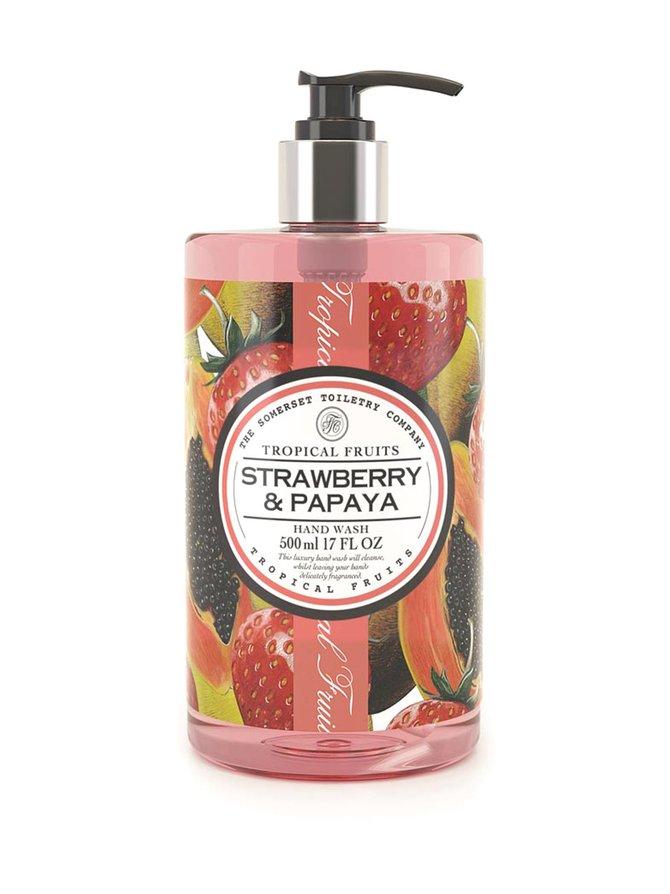 Strawberry & Papaya Hand Wash -nestesaippua 500 ml